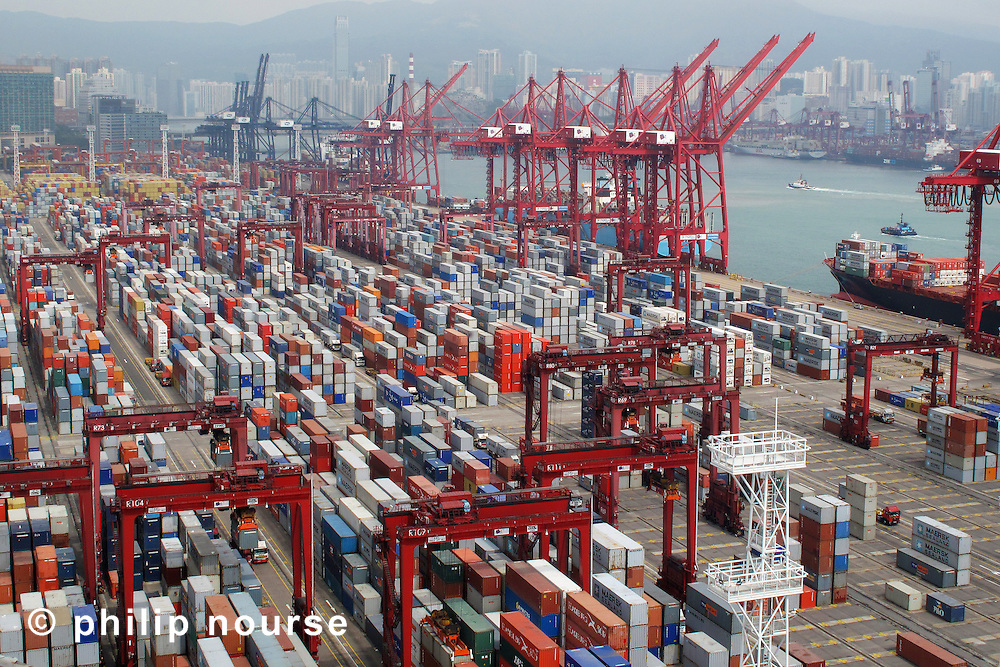 Kwai Tsing Container Terminals, New Territories