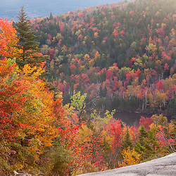 Zealand Falls in fall. White Mountain National Forest, New Hampshire.