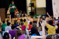 "Woodland Heights Elementary School ""Words of Wisdom"" trivia contest  June 16, 2010."