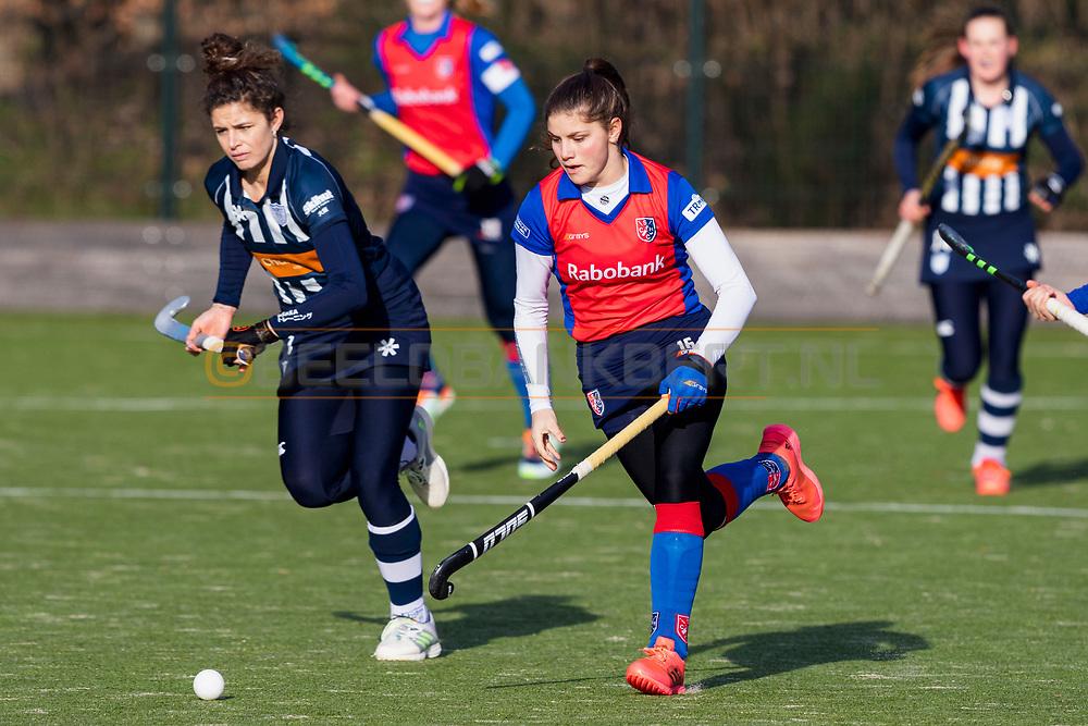 BILTHOVEN -  Hoofdklasse competitiewedstrijd dames, SCHC v hdm, seizoen 2020-2021.<br /> Foto: Elzemiek Zandee (SCHC)