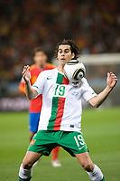 FOOTBALL - FIFA WORLD CUP 2010 - 1/8 FINAL - SPAIN v PORTUGAL - 29/06/2010 - PHOTO GUY JEFFROY / DPPI - TIAGO (POR)