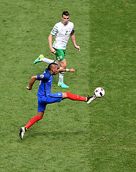 Dimitri Payet of France controls the ball  - Mandatory by-line: Joe Meredith/JMP - 26/06/2016 - FOOTBALL - Stade de Lyon - Lyon, France - France v Republic of Ireland - UEFA European Championship Round of 16