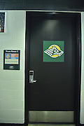April 4, 2016; Indianapolis, Ind.; A view of the UAA women's basketball team's locker room before the NCAA Division II Women's Basketball National Championship game at Bankers Life Fieldhouse between UAA and Lubbock Christian.