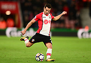 Cedric of Southampton in action.Premier league match, Southampton v West Bromwich Albion at the St. Mary's Stadium in Southampton, Hampshire, on Saturday 21st  October 2017.<br /> pic by Bradley Collyer, Andrew Orchard sports photography.