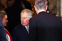 Charles Prince of Wales, The Prince's Trust and TKMaxx & H, omesense Awards, The Palladium, London UK, 06 March 2018, Photo by Richard Goldschmidt