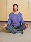 Baby Boomer Meditating