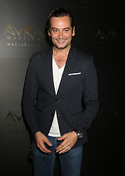 September 8, 2016 - New York, New York, U.S. - Singer CONSTANTINE MAROULIS attends the Avra Madison Grand Opening Party held on the Upper East Side. (Credit Image: © Nancy Kaszerman via ZUMA Wire)