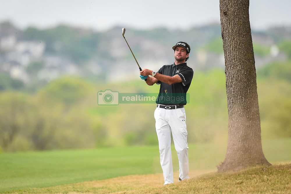 March 25, 2018 - Austin, TX, U.S. - AUSTIN, TX - MARCH 25: Bubba Watson hits an approach shot from the rough during the semifinals match of the WGC-Dell Technologies Match Play on March 25, 2018 at Austin Country Club in Austin, TX. (Photo by Daniel Dunn/Icon Sportswire) (Credit Image: © Daniel Dunn/Icon SMI via ZUMA Press)