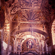 A294K5 Atotonilco church interior Mexico