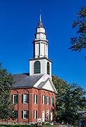 The First Church of Deerfield, Massachusetts, USA.