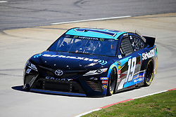 March 23, 2019 - Martinsville, VA, U.S. - MARTINSVILLE, VA - MARCH 23: #19: Martin Truex Jr., Joe Gibbs Racing, Toyota Camry Sirius XM during final practice for the STP 500 Monster Energy NASCAR Cup Series race on March 23, 2019 at the Martinsville Speedway in Martinsville, VA.  (Photo by David J. Griffin/Icon Sportswire) (Credit Image: © David J. Griffin/Icon SMI via ZUMA Press)
