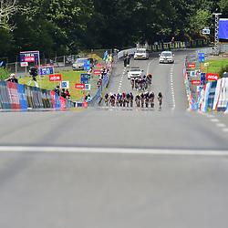 28-08-2020: Wielrennen: EK wielrennen: Plouay<br /> <br /> De Deen Andersen wint voor de Tsjech Bittner en de Belg De Lie. Loe van Belle was de best geklaseerde Nederlander, maar dat leek ons buiten de top 10.