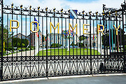 The house of Pommery in Reims, Champagne-Ardenne, France