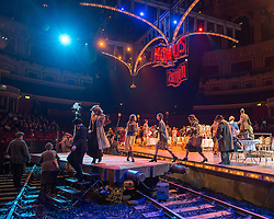 © London News Pictures. Act II of Puccini's tragic opera La Boheme at The Royal Albert Hall, London on February 26, 2014.  Photo credit: Arnaud Stephenson/LNP