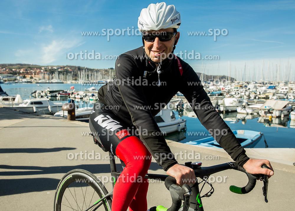 Valter Bonca during the UCI Class 1.2 professional race 4th Grand Prix Izola, on February 26, 2017 in Izola / Isola, Slovenia. Photo by Vid Ponikvar / Sportida