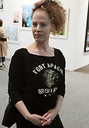 April 8, 2018-New York, New York-United States: Arts Writer Sara Rosen attend the Photography Show presented by AIPAD held at Pier 94 on April 8, 2018 in New York City. The Photography Show, held at Pier 94, is the longest-running and foremost exhibition dedicated to the photographic medium, offering contemporary, modern, and 19th century photographs as wells photo-based art, video and new media.(Photo by Terrence Jennings/terrencejennings.com)