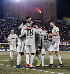 """Sami Khedira releases a photo on Instagram with the following caption: """"Onto the #CoppaItalia quarter finals \ud83d\udcaa\ud83c\udffd\ud83c\udff3\ud83c\udff4 #BolognaJuve #FinoAllaFine #ForzaJuve #SK6"""". Photo Credit: Instagram *** No USA Distribution *** For Editorial Use Only *** Not to be Published in Books or Photo Books ***  Please note: Fees charged by the agency are for the agency's services only, and do not, nor are they intended to, convey to the user any ownership of Copyright or License in the material. The agency does not claim any ownership including but not limited to Copyright or License in the attached material. By publishing this material you expressly agree to indemnify and to hold the agency and its directors, shareholders and employees harmless from any loss, claims, damages, demands, expenses (including legal fees), or any causes of action or allegation against the agency arising out of or connected in any way with publication of the material."""