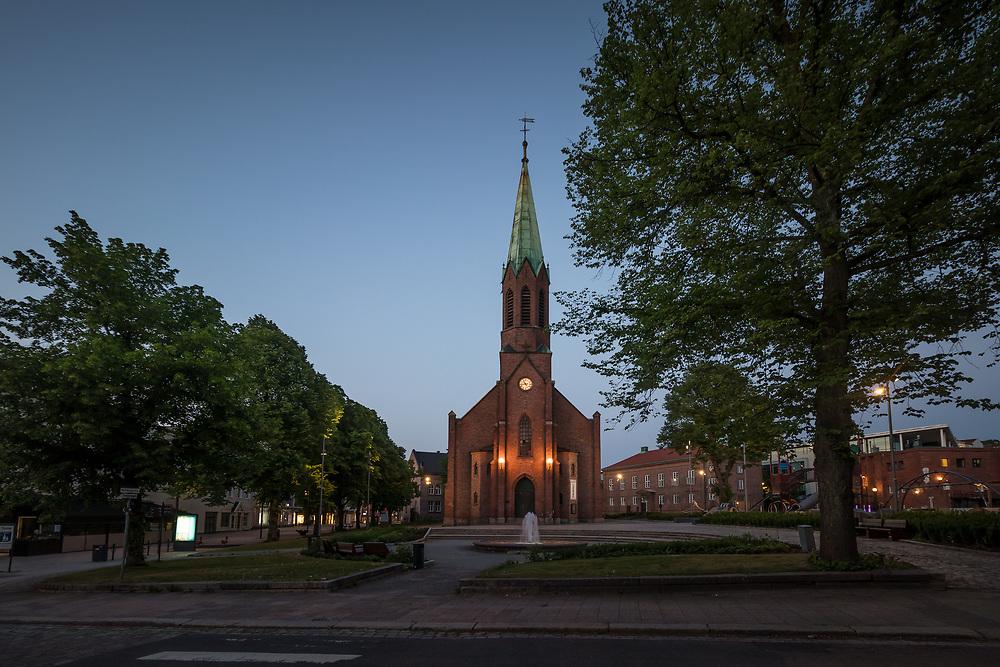 Moss kirke er en langkirke i nygotikk fra 1861 i Moss kommune i Østfold fylke. Byggverket er i tegl og har 500 sitteplasser.