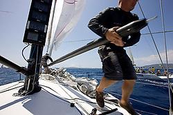 08_008868  © Sander van der Borch. Porto Portals, Mallorca,  July 21th 2008. AUDI MEDCUP in Porto Portals  (21/26 July 2008). Practice race.