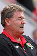 Wales manager John Toshack. friendly international match, Wales v Luxembourg at the Parc y Scarlets stadium in  Llanelli on Wed 11th August 2010. pic by Andrew Orchard, Andrew Orchard sports photography,