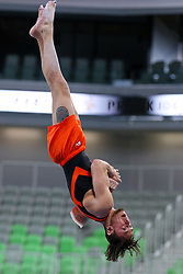 05-04-2015 SLO: World Challenge Cup Gymnastics, Ljubljana<br /> Bart Deurloo of Netherland in Vault during Final of Artistic Gymnastics World Challenge Cup Ljubljana, on April 5, 2015 in Arena Stozice, Ljubljana, Slovenia. Photo by Morgan Kristan / RHF Agency