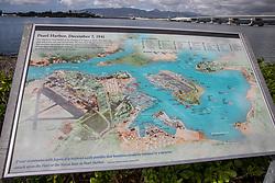 Pearl Harbor Interpretive Panel