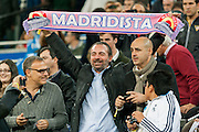 Madridista Fan at Santiago Bernabeu Satadium