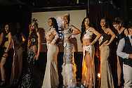 Conestants line up on stage before a cheering crowd and a panel of six judges in central Istanbul on June the 14th. The event was Istanbul's second Trans Beauty Pageant organised by Angel of Turkey, raising money for a shelter and hostel for transgender women in Istanbul.
