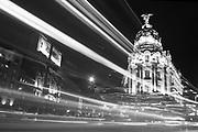 Metropolis Building in Madrid, Spain