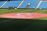 The pitch bearing the Uefa banner during the UEFA European Under 17 Championship 2018 match between England and Israel at Proact Stadium, Whittington Moor, United Kingdom on 4 May 2018. Picture by Mick Haynes.