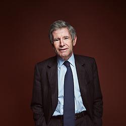 Paris, France. January 20, 2014. Alain Minc, in his office. He is a political advisor, and an author. Photo: Antoine Doyen