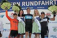 Sykkel<br /> 25.05.2011<br /> Foto: imago/Digitalsport<br /> NORWAY ONLY<br /> <br /> Bayern Rundfahrt 2011, 1. Etappe Pfarrkirchen-Freystadt, <br /> <br /> Sieger BOASSON HAGEN Edvald NOR (SKY) SKY PRO CYCLING GBR (L), SCHULZE Andre (CCC) CCC POLSAT POLKOWICE POL 2. Platz (R), HAUSSLER Heinrich GER (GRM) TEAM GARMIN CERVELO USA (3.Platz) ;<br /> <br /> Edvald Boasson Hagen vant etappen
