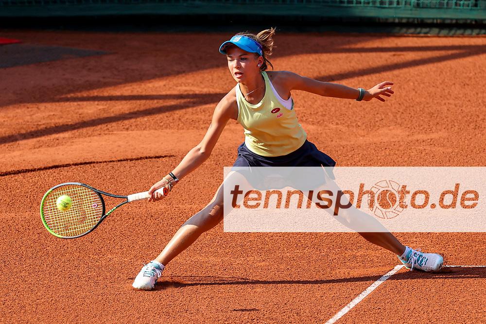 Andra Braicu (Tennis-Club SCC Berlin), Blau-Weiss Young Generation Trophy, Berlin, TC 1899 Blau-Weiss, 08.08.2020, Foto: Claudio Gärtner