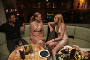 HEATHER GRAHAM AND MEREDITH OSTRON, Party hosted by Larry Gagosian at Nobu, Berkeley St. London. 9 October 2007. -DO NOT ARCHIVE-© Copyright Photograph by Dafydd Jones. 248 Clapham Rd. London SW9 0PZ. Tel 0207 820 0771. www.dafjones.com.
