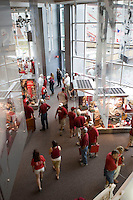 FAYETTEVILLE, AR - September 3:  Arkansas Razorback football Hall of Fame on the campus of the University of Arkansas on September 3, 2005 in Fayetteville, Arkansas.   (Photo by Wesley Hitt/Getty Images) *** Local Caption ***