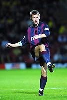 Fotball<br /> Norske spillere i England<br /> Foto: Colorsport/Digitalsport<br /> NORWAY ONLY<br /> <br /> Gunnar Halle (Bradford City) Watford v Bradford City, Worthington Cup , 9/10/2001