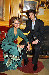 MISS KATE MELHUISH and JACK FREUD at a private dinner and presentation of Issa's Autumn-Winter 2005-2006 collection held at Annabel's, 44 Berkeley Square, London on 15th March 2005.<br />
