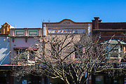 General views of shops, restaurants and cafes, Leura, NSW, Australia.