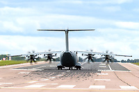 Planes at RAF Brize Norton Oxfordshire ,photo by Chris Wynne