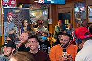 FOX Big Noon Kickoff with Mark Titus and Charlotte Wilder Ultimate College Football Road Trip sponsored by Dos Equis at SCONNIEBAR BNK Penn State vs Wisconsin Sept. 3, 2021, in Madison, Wis. (PictureGroup)