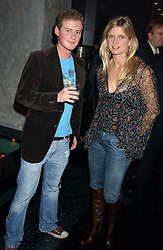 GUY PELLY and the MARCHIONESS OF MILFORD HAVEN at a party to celebrate the publication of Tatler's Little Black Book 2005 held at the Baglioni Hotel, 60 Hyde Park Gate, London SW7 on 9th November 2005.<br />