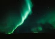 Beautiful green aurora with the big dipper, Thaneta Pass, Alaska