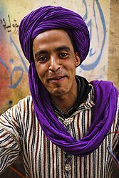 December 8, 2015 - Morocco - Portrait in the bazaar of Rissani (Credit Image: © Dani Salv/VW Pics via ZUMA Wire)