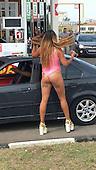 free gas to bikini wearing customers