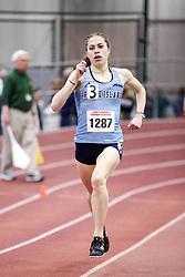 womens 500 meters, heat 4, Rhode Island<br /> BU John Terrier Classic <br /> Indoor Track & Field Meet
