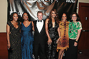 October 19, 2012-New York, NY: (L-R) Celebrity Stylist/TV Personality June Ambrose(Honoree), Gail Perry, President, BRAG, Tim M. Belk, Chairman & CEO, Belk Companies(Honoree), Super Model/Entreprenuer Beverly Johnson, Susan Akkad SVP Estee Lauder(Honoree), and Fern Mallis, President, Fern Mallis, LLC and Creator New York Fashion Week (Honoree) at the BRAG 42nd Annual Scholarship & Scholarship Awards Dinner Gala held at Pier Sixty at Chelsea Piers on October 19, 2012 in New York City. BRAG, a 501 (c) (3) not for profit organization, is dedicated to the inclusion of African Americans and all people of color in retail and related industries.  (Terrence Jennings)