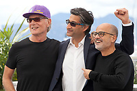 Fernando Signorini, Asif Kapadia and Daniel Arcucci at Diego Maradona film photo call at the 72nd Cannes Film Festival, Monday 20th May 2019, Cannes, France. Photo credit: Doreen Kennedy