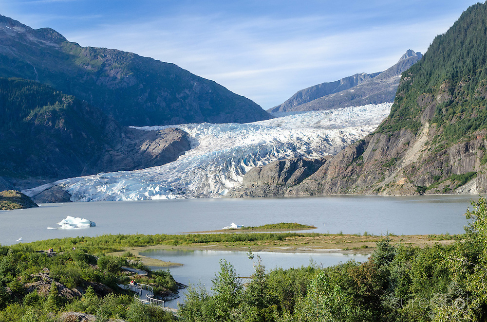Mendenhall Glacier, Tongass National Forest, AK