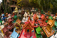 Spirit houses, Khoon Tan, near Chiang Mai, Northern Thailand