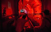 Tunnel that connects the Bund to Pudong, Shanghai.<br /> China 2007<br /> <br /> Photo Antonietta Baldassarre Inside